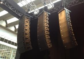 Concert Sound And Line Array Speaker Rental In San